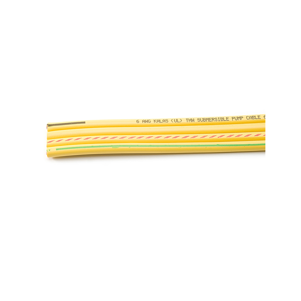 6/3 Flat Yellow Wire