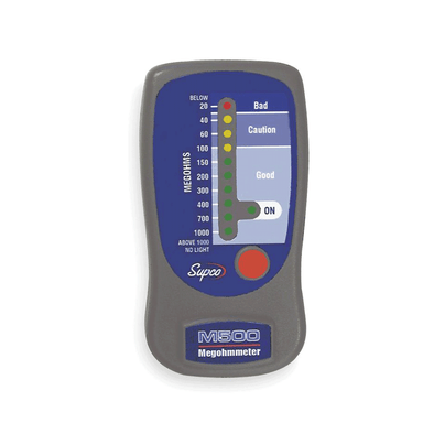 M500 Megohmeter Insulation Tester