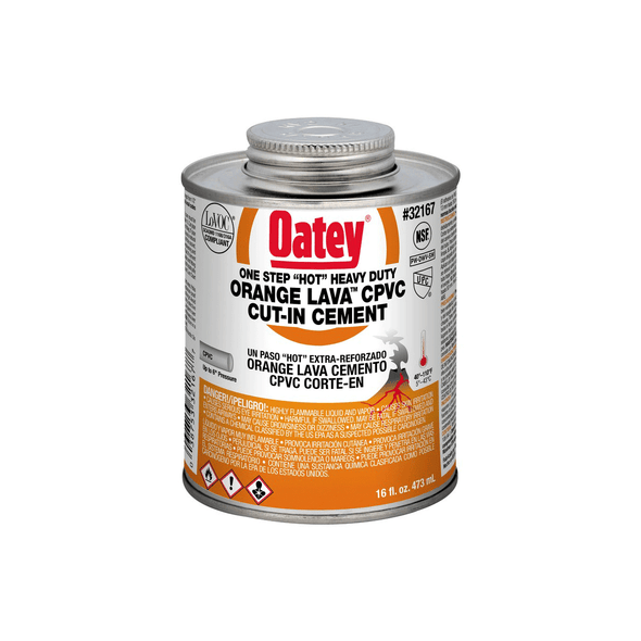 Orange Lava Heavy Duty CPVC One Step Cement