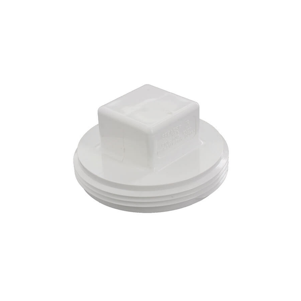 PVC DWV Threaded Cleanout Plug