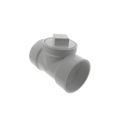 PVC DWV Cleanout Tee With Plug