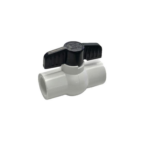 PVC Sch40 Slip Ball Valve From Boshart