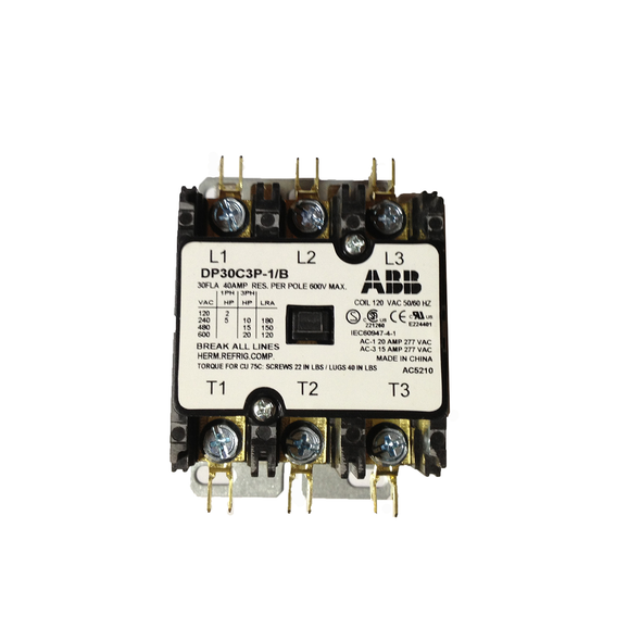 Single Phase Contactor For AWA501 Panel