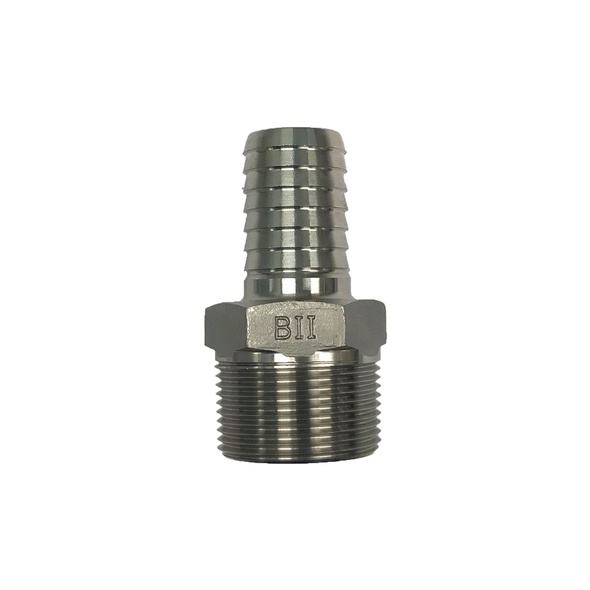 Stainless Steel Reducing Male x Insert Adapter