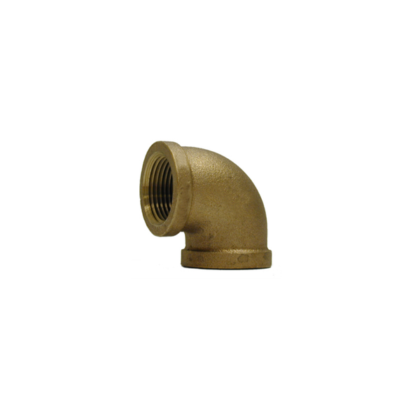 Brass Threaded 90º Elbow