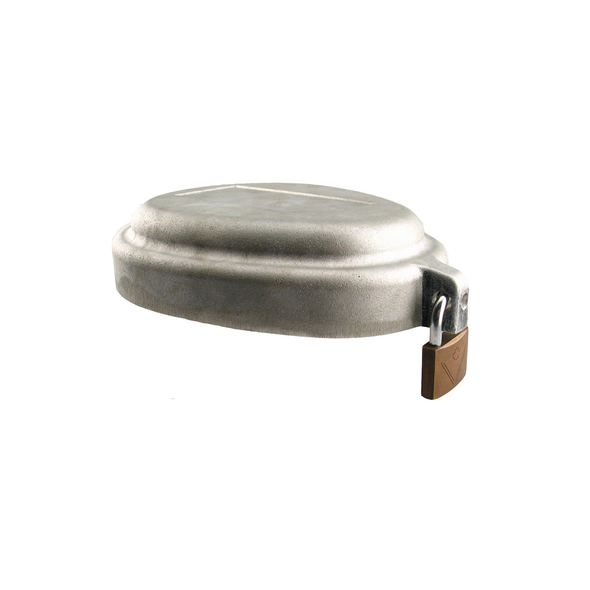 5.625in Aluminum Locking Watertight Well Cap