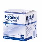 Habitrol 4mg Fruit Flavor 384 Bulk Chewing Gum Pack