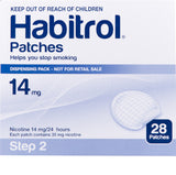 Habitrol Nicotine Patch 14mg Step-2 28 Piece Pack