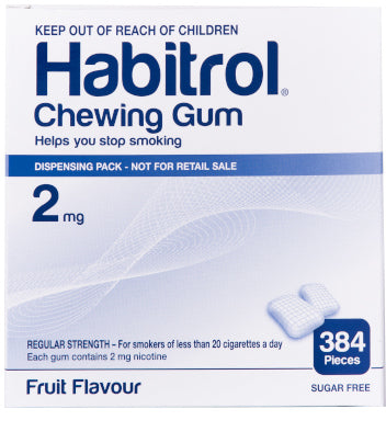 Habitrol 2mg 384 Bulk Chewing Gum Pack