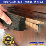 Miracle Eraser® Strip 'N Sand™ - Paint, Varnish, and Rust Remover for Wood and Metal - 18 Pack