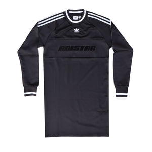 adidas shirt dress black