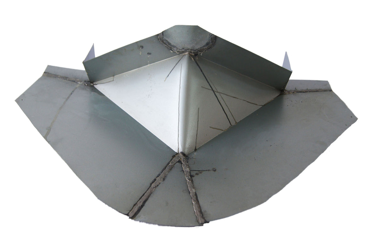 30 Inch Chimney Cricket Flashing For Roof Pitch 10 12 12
