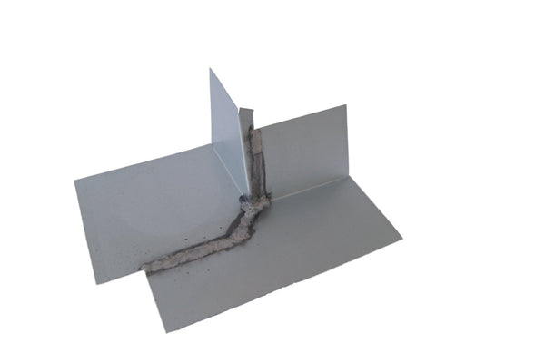Soldered Galvanized Steel for Superior Roof Waterproofing Roof-to-Wall Flashing System 1, Right Outside Corner 2//12 Pitch Roof Corner Flashing for Inside /& Outside Corners