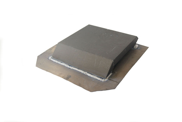 14 Inch Airhawk Low Profile Flat Top Box Vent In Paint