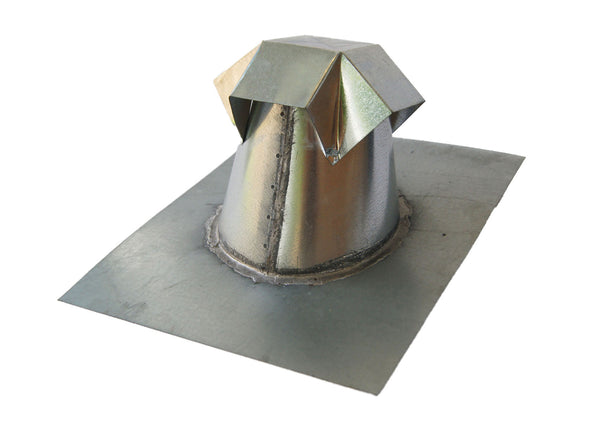 6 Inch Straight Barrel Roof Jack Penetration Flashing For Flat Roof Flashing Kings