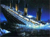 """Sinking Ship"" Diamond Painting - Full"
