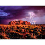 """Lightning over Uluru"" Diamond Painting - Full"