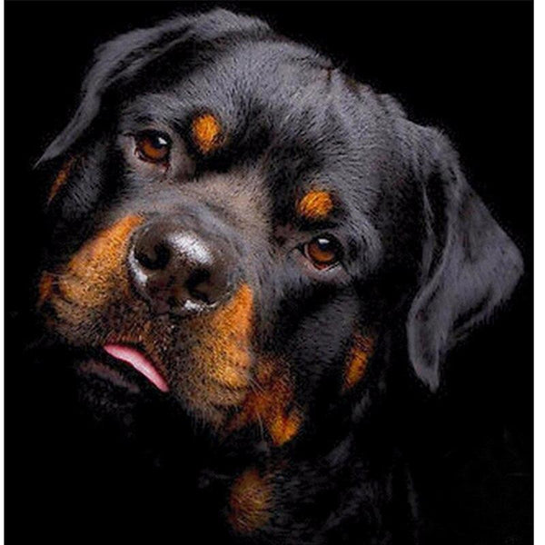 """Rottweiler"" Diamond Painting - Full"