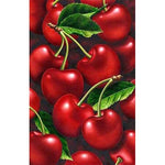 """ Red Cherry "" Diamond Painting- Full"