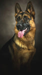 """German Shepherd"" Diamond Painting- Full"