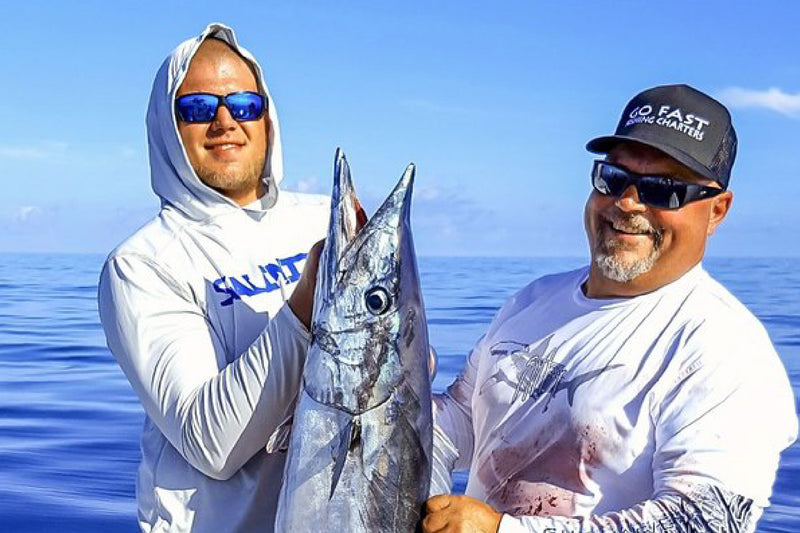BIG WAHOO OFF TAMPA BAY FOR SALINITY PRO TEAM- GO FAST