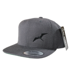 Salinity Gear frigate grey snapback hat