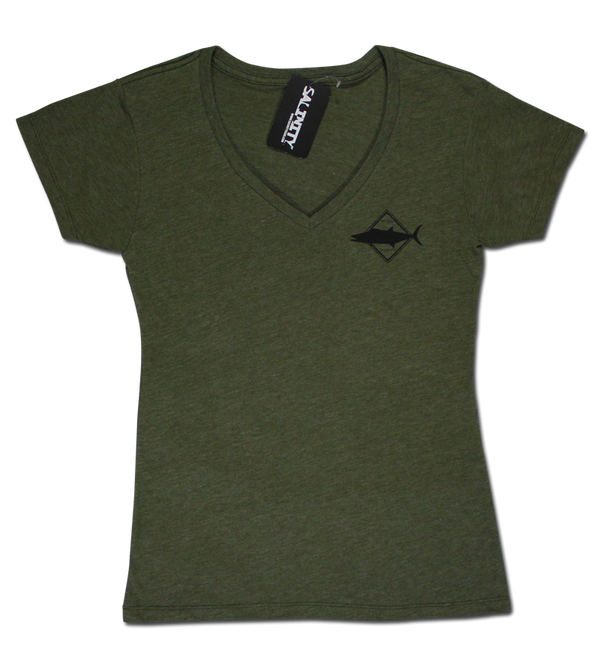 Ladies Kingfish Premium Short Sleeve V-Neck