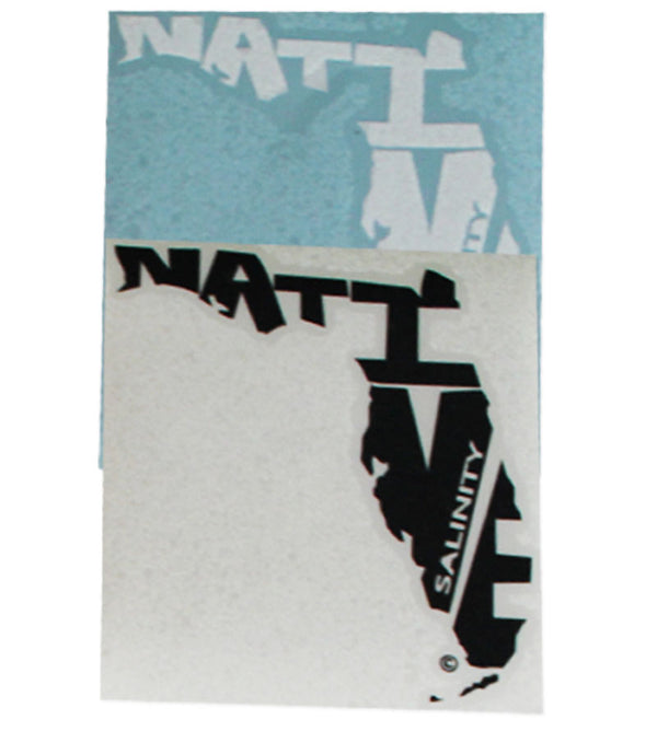 Extra Large Florida Native Vinyl Sticker