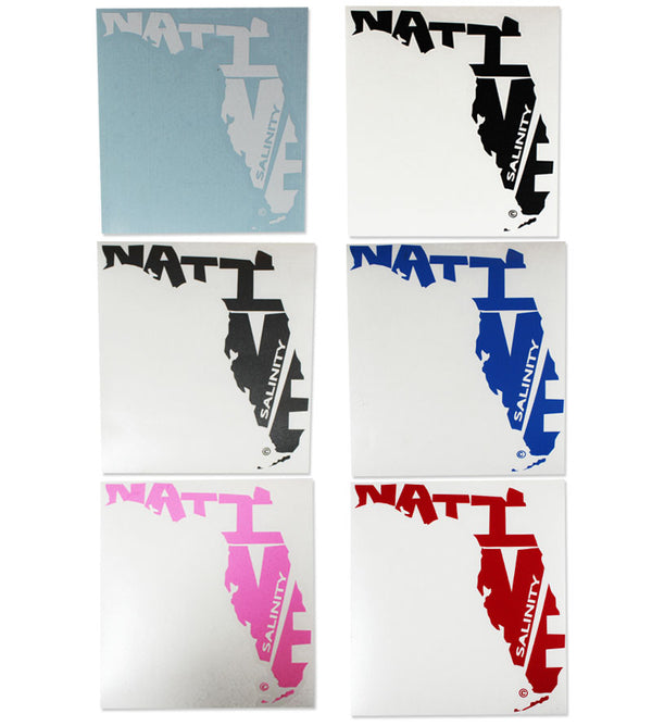 Salinity Gear Florida Native Sticker