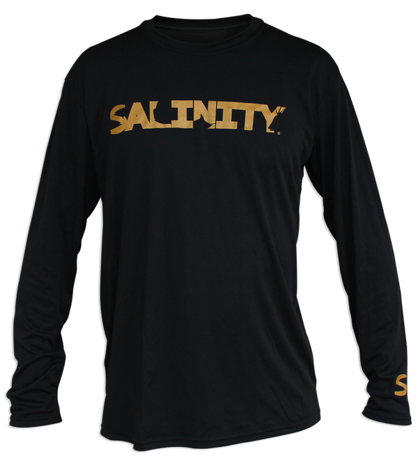 Salinity Logo Performance Long Sleeve