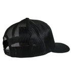 Salinity Gear Florida Sailfish patch mesh black snapback hat
