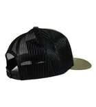 Salinity Gear Florida Sailfish patch mesh green and black snapback hat