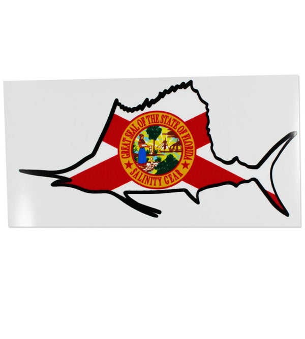 Salinity Gear Florida Sailfish sticker