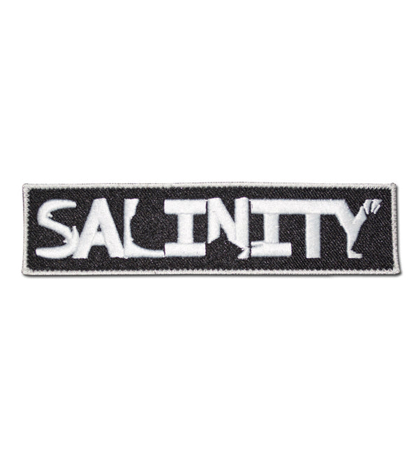 Salinity Gear patch ready to iron or sew on