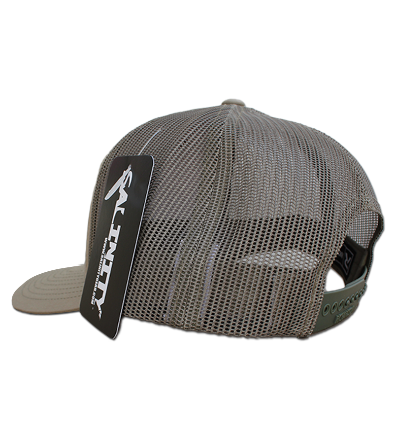 Snook Gyotaku Patch Hat- Khaki/Loden