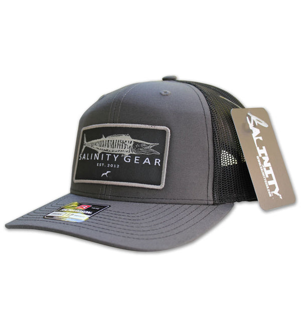 Wahoo Patch Hat - Charcoal