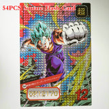 54 PIECE Dragon Ball Super Collectible Cards!