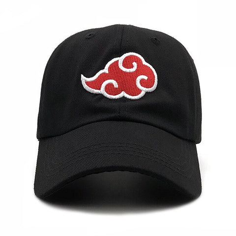 "AKATSUKI ""Red Cloud"" Cap Luxury Embroidered"
