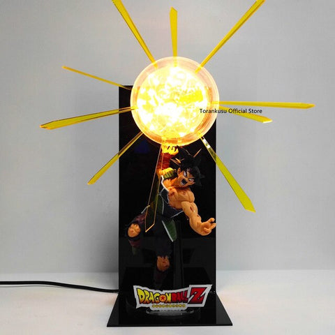 AMAZING Bardock Final Attack LED Lamp + Figurine