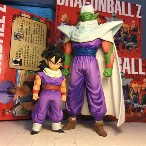 2Pcs/Set Gohan & Piccolo Battle Cloaked Figurines