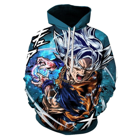 Ultra Instinct Goku | Dragon Ball Super Hoodie Jumper