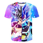 Ultra Instinct x Evolution Blue | Dragon Ball Super T-Shirt