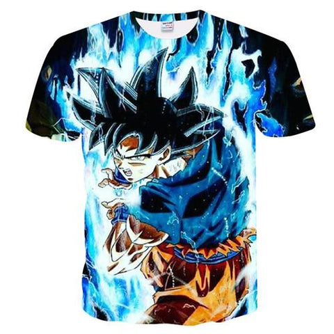 Ultra Instinct Goku Omen Sign | Dragon Ball Super T-Shirt