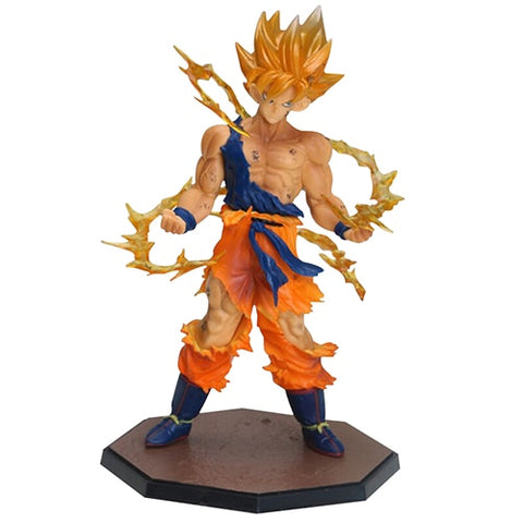 Amazing Posing Dragon Ball Figurines With AURA
