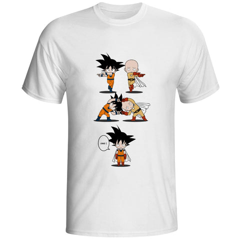 Goku And Saitama FUSION T Shirt (DBS x OPM)