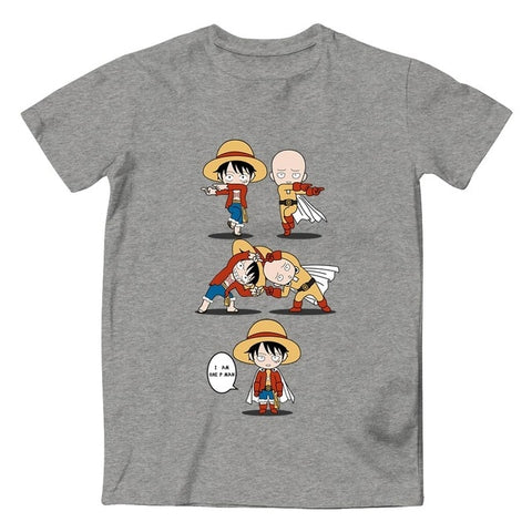 Goku And Luffy FUSION T-Shirt (DBS x OP)
