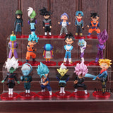 Dragon Ball Super 18 Piece BUNDLE Set Collectible Figurines! ONLY $34.99