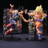 Bardock And SSJ Goku Dragon Ball Z Figurines *RARE*
