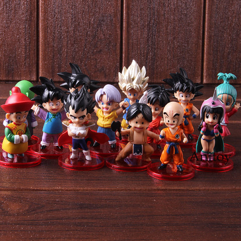 Dragon Ball 13 Piece BUNDLE Set Collectible Figurines! ONLY $24.99