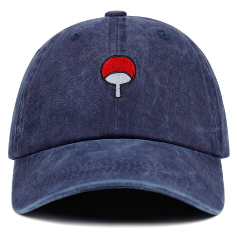 "UCHIHA ""Denim Clan"" Cap Luxury Embroidered"